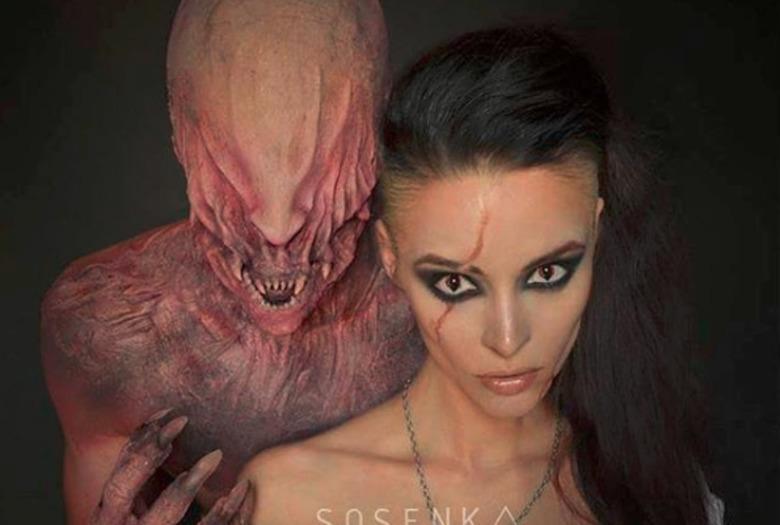 Justyna Sosenka Sosnowska czaruje makijażem