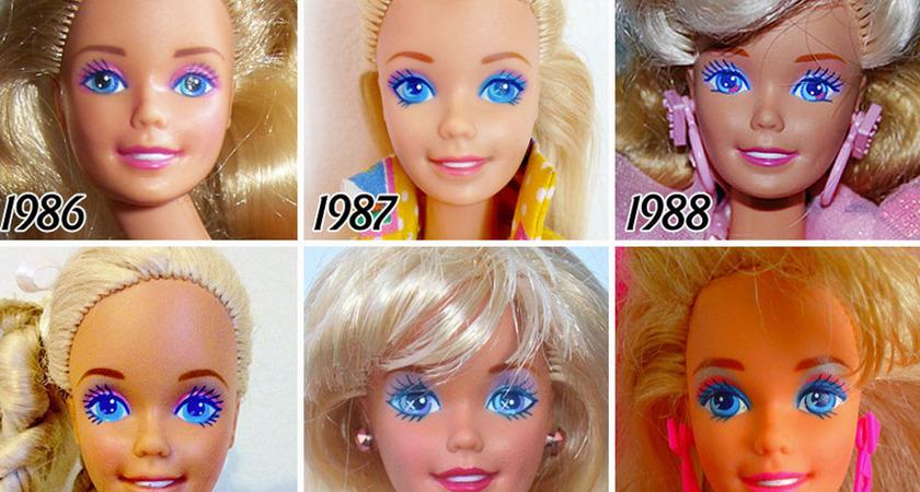 Tak zmieniała się lalka Barbie od 1959 roku!