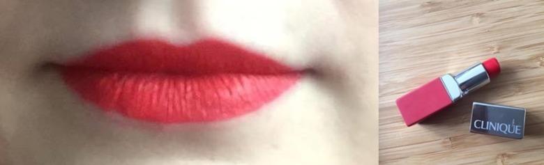 Czerwona szminka- Clinique