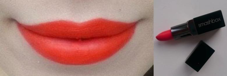 Czerwona szminka- Smashbox