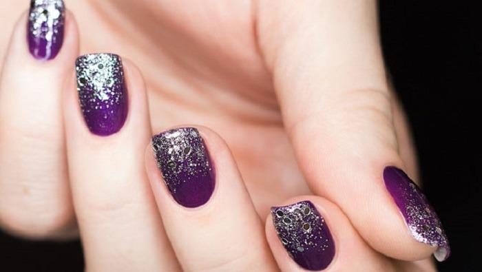 Glitter Nails Brokatowe Paznokcie Na Imprezę Wideo Wizazpl