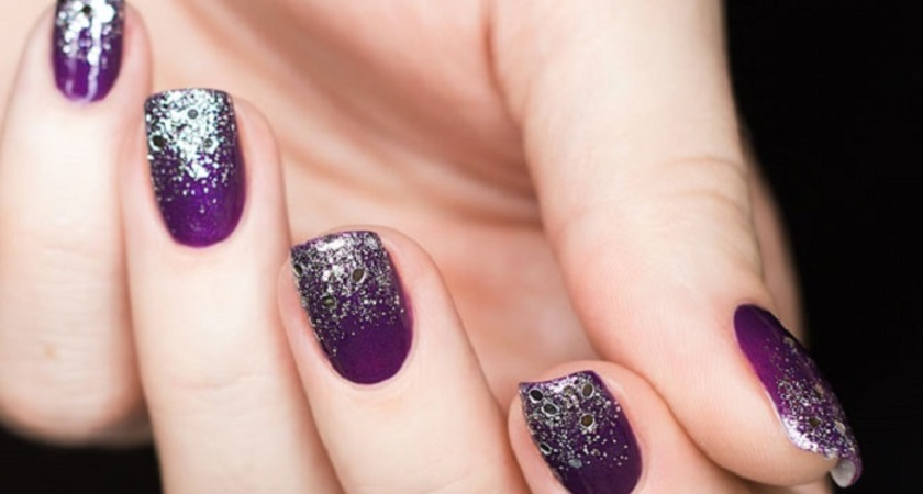 Glitter nails - paznokcie brokatowe