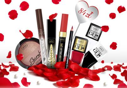 Walentynkowy makijaż z WIBO