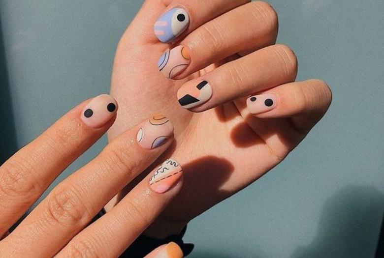 Wzory na paznokcie