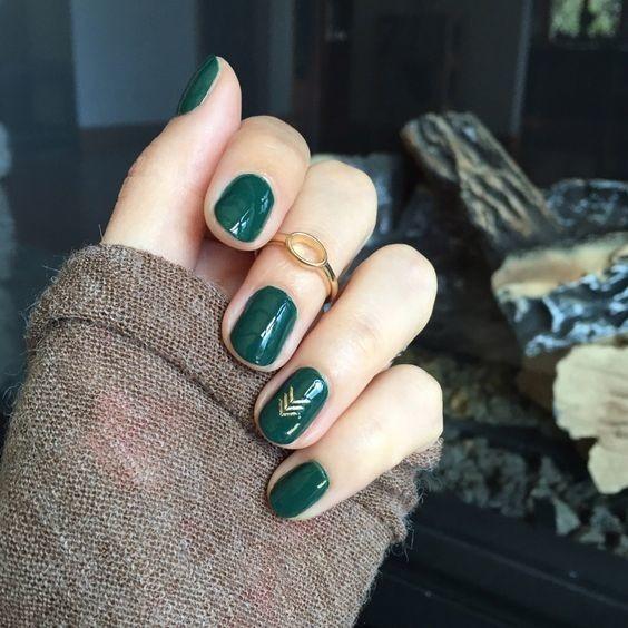 Zielony Manicure Inspiracje I Lakiery Wizazpl