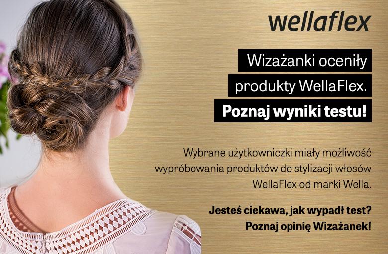 Wyniki testu produktów do stylizacji włosów Wellaflex