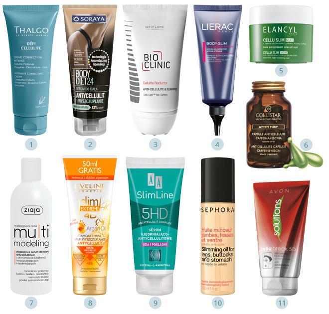 11 nowych kosmetyków na cellulit