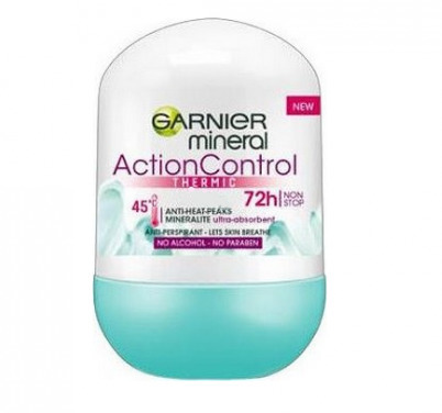 Garnier, Mineral Deodorant, Action Control Thermic 72h Roll - On