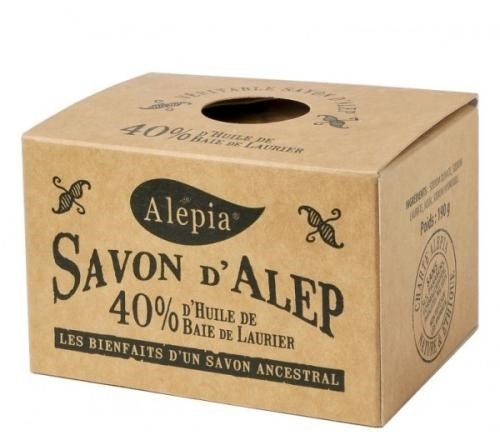 Alepia, Savon d`Alep 40% Laurier (Mydło Alep 40% oleju Laurie)