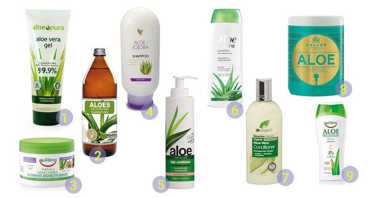 Aloes w pielęgnacji włosów