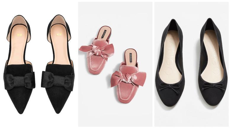 02adf96b0e597 Baleriny z Zary nie przypadły wam do gustu? Zobacz nasze propozycje modnych  butów z kokardami na nowy sezon z sieciówek: