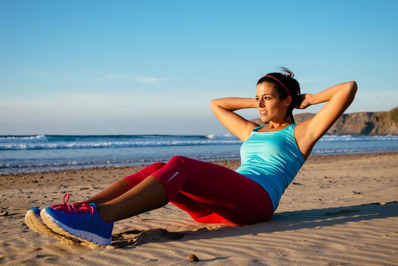 ćwiczenia podczas upału