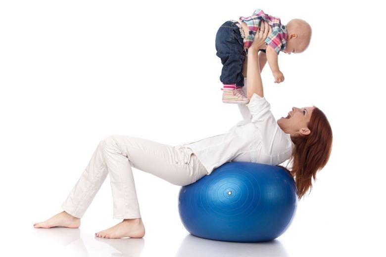 ćwiczenia z dzieckiem po ciąży