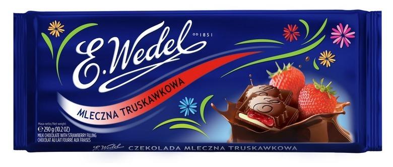 czekolada truskawkowa