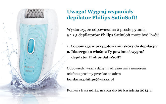 depilator philips satinsoft