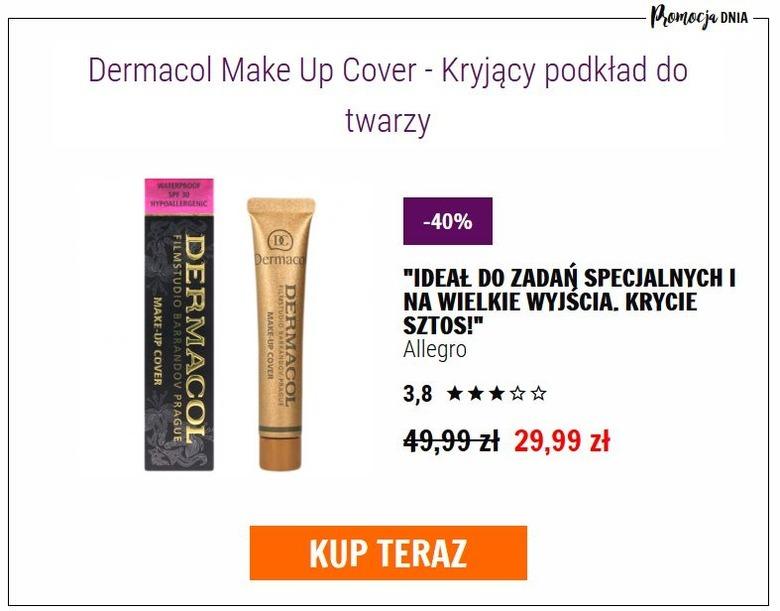 Podkład Dermacol Make Up Cover Wizazpl