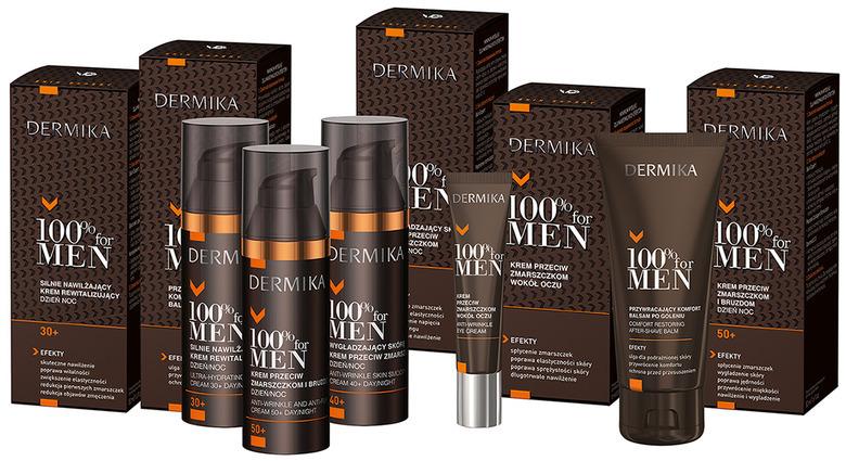 100% for MEN Dermika