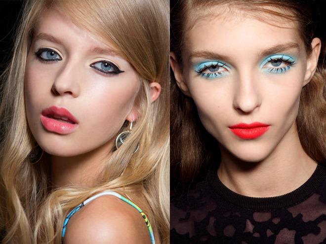 Makijaż wiosna 2015