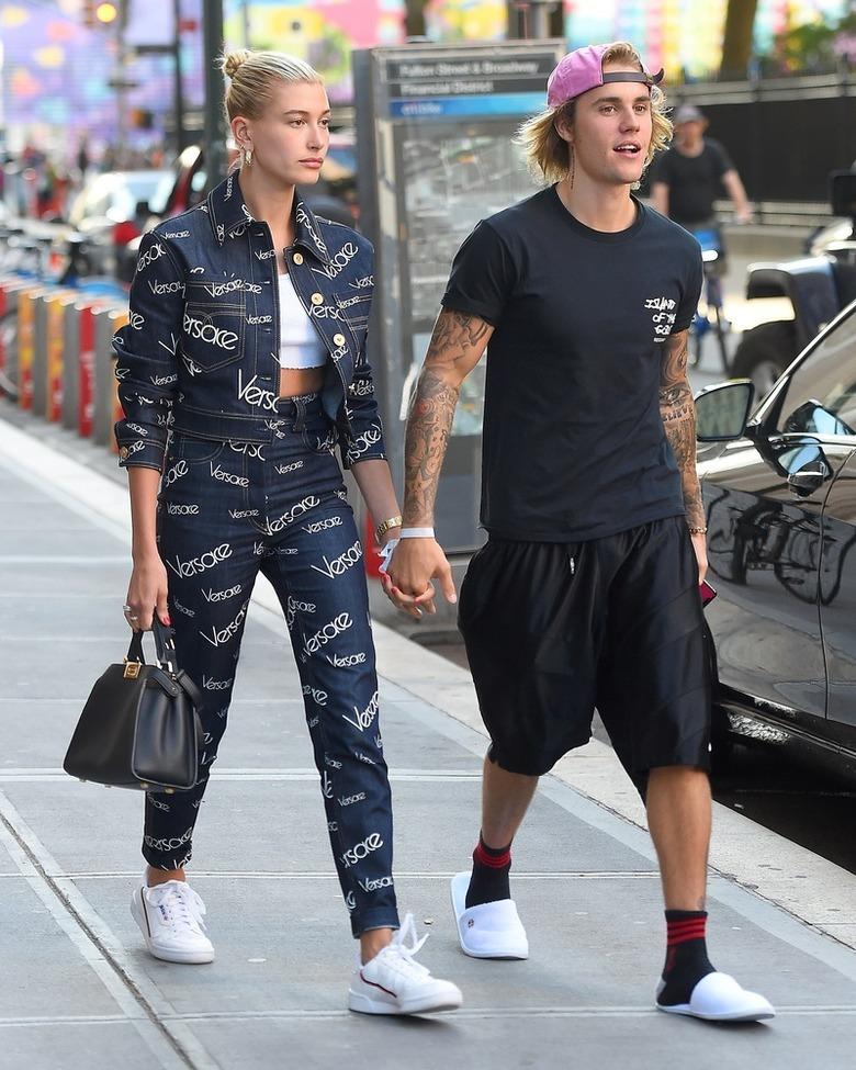 Zakochani Justin Bieber i Hailey Baldwin, lipiec 2018