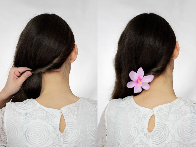 fryzura na ślub krok po kroku