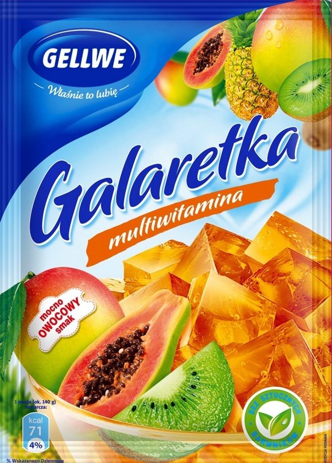galaretka multiwitamina Gellwe