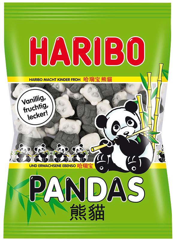 żelki haribo pandas