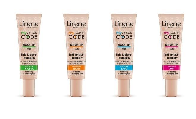 Podkłady Lirene My Color Code