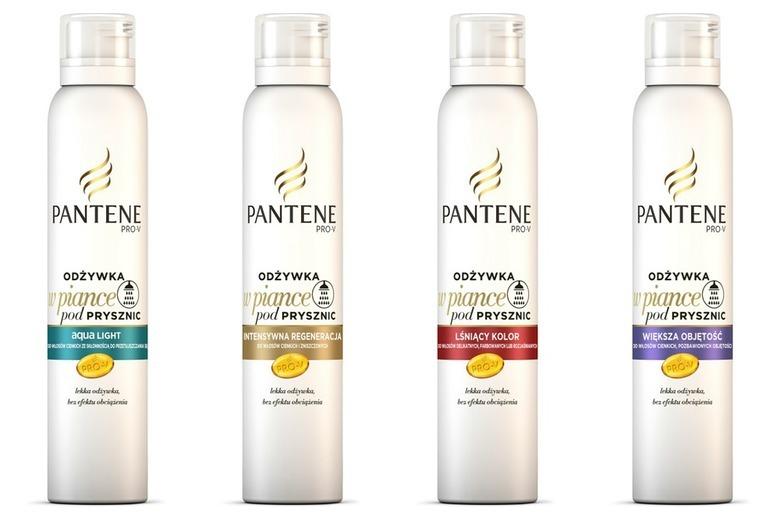 Odżywka w piance do włosów Pantene