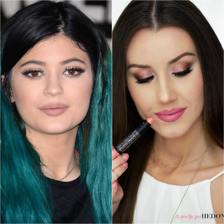 powiększanie ust w stylu Kylie Jenner