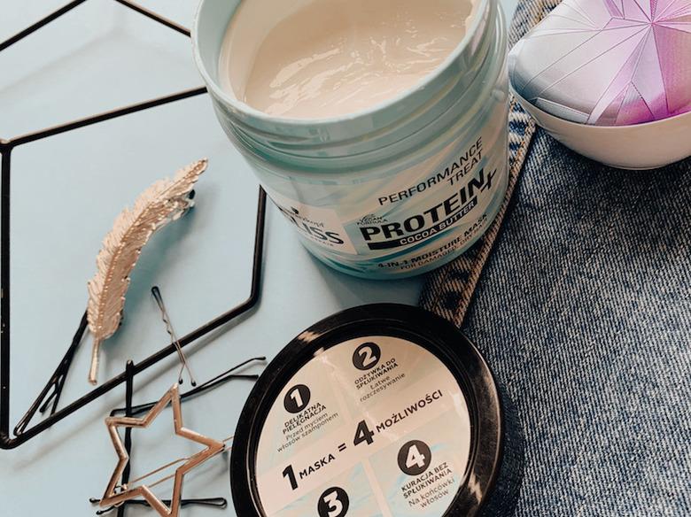 Test maski Schwarzkopf GLISS z proteinami soi i masłem kakaowym