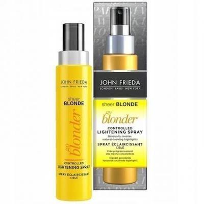 Jak efekt daje spray John Frieda Sheer Blonde Go Blonder?