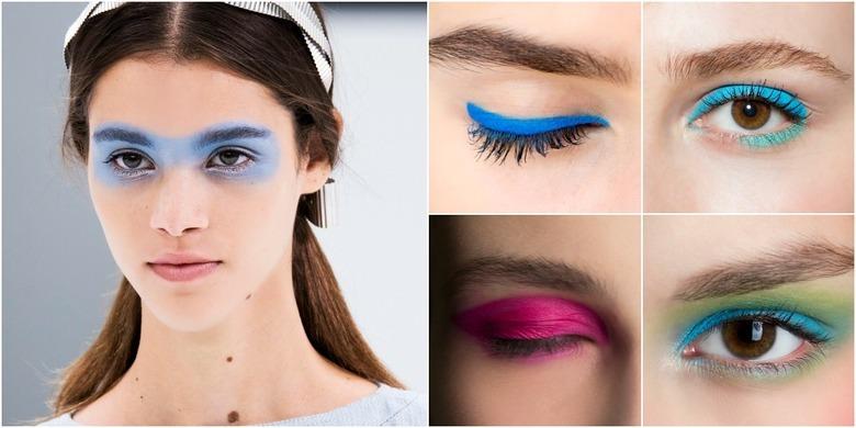 Trendy w makijażu na wiosnę-lato 2016