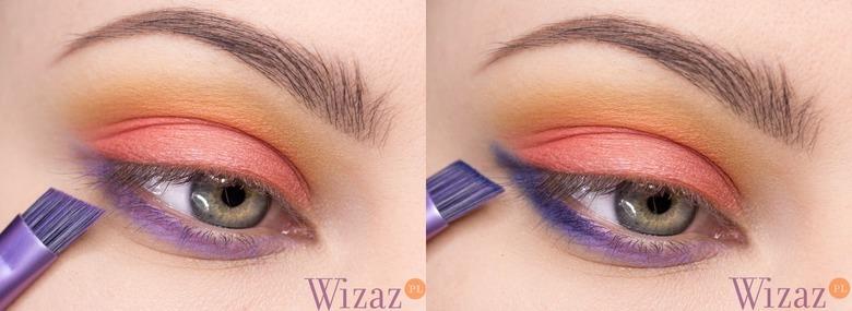 makijaż kontrastowy
