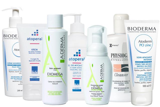 kosmetyki AZS atopowe zapalenie skóry
