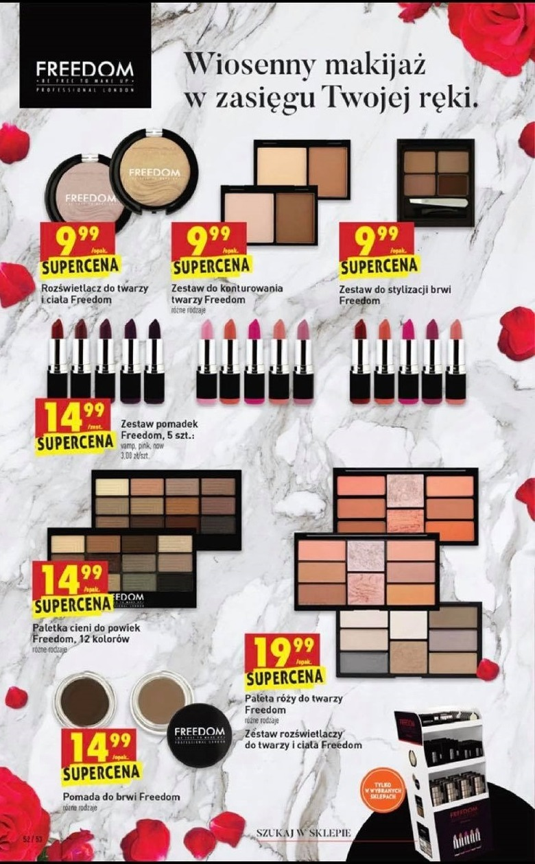 Kosmetyki Freedom Makeup W Biedronce Wizaz Pl