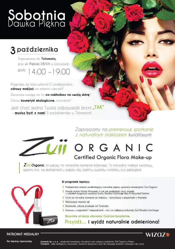 kosmetyki mineralne Zuii Organic