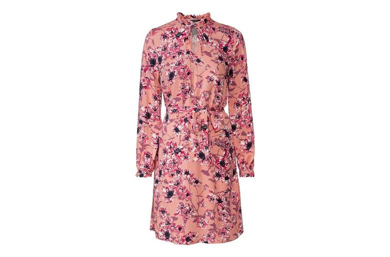 sukienki w kwiatki w lidlu
