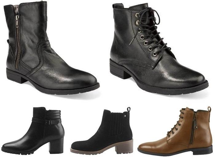 skórzane buty w Lidlu