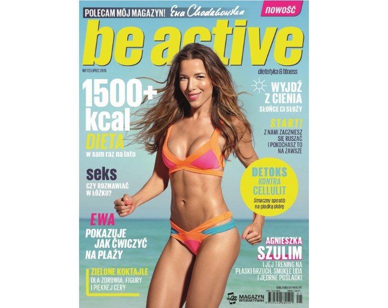 Ewa Chodakowska i nowy miesięcznik Be Active