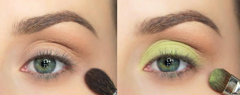 Limonkowy Makijaż Oczu Na Wiosnę Wizazpl