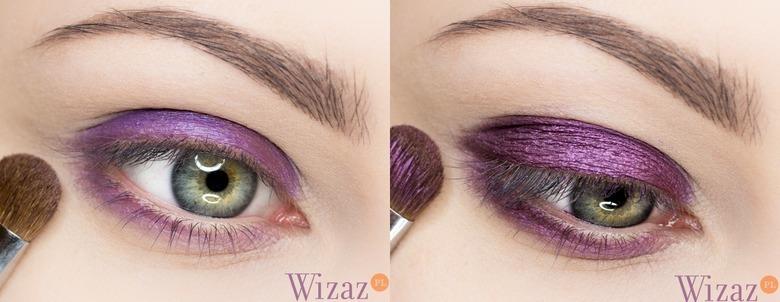 makijaż malowany farbką