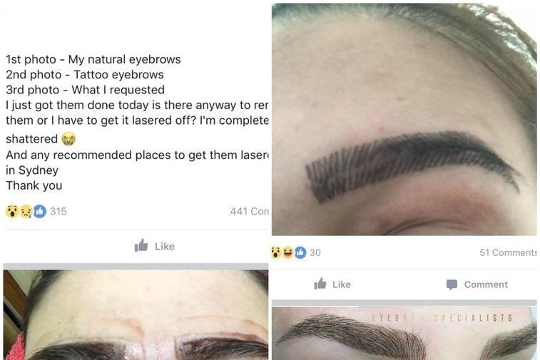 źle Wykonany Makijaż Permanentny Brwi Wizazpl