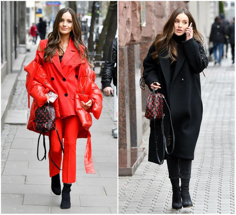 1a45e4050708d Hitem stały się mini plecaczki od Versace, Chloe, Chanel, a przede  wszystkim Louis Vuitton. Z modelem od LV nie rozstaje się m.in.