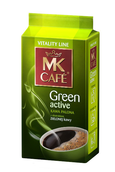 mk cafe green coffee