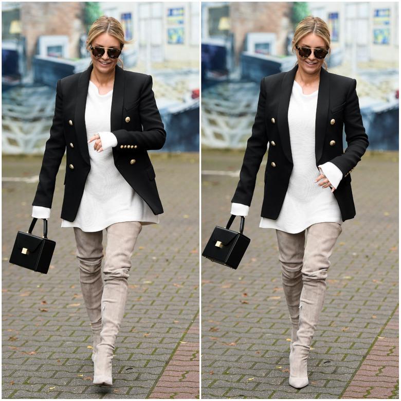 cbc9728199559 Nosimy je w zestawieniu z długimi swetrami lub bluzami o luźnym kroju. Warto  zaznaczyć, że takie buty będą wyglądały najlepiej na kobietach wysokich -  luźne ...