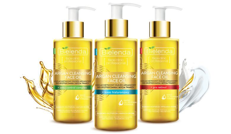 Olejek do mycia twarzy Bielenda Argan Cleansing Face Oil