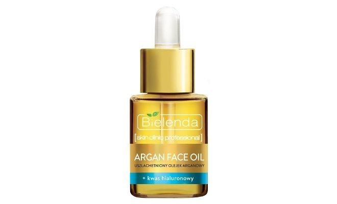olejekdo twarzy Uszlachetniony olejek arganowy + kwas hialuronowy Argan Face Oil Bielenda