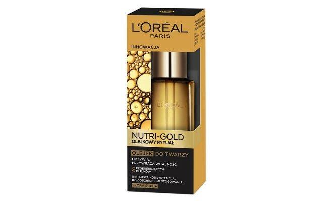Olejek do twarzy Nutri-Gold L'Oreal Paris