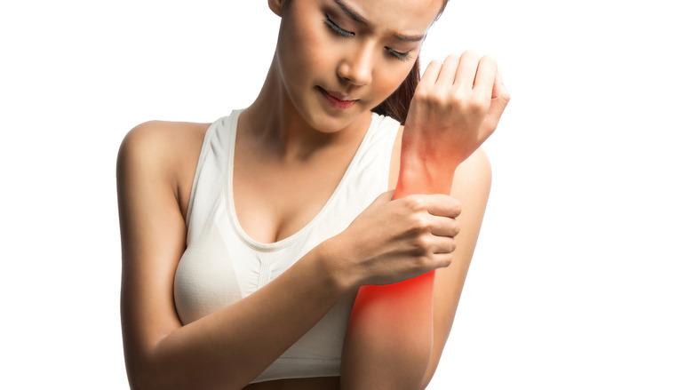 olejek na bolące mięśnie