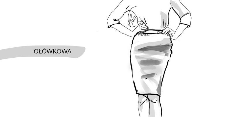 spódnica a sylwetka